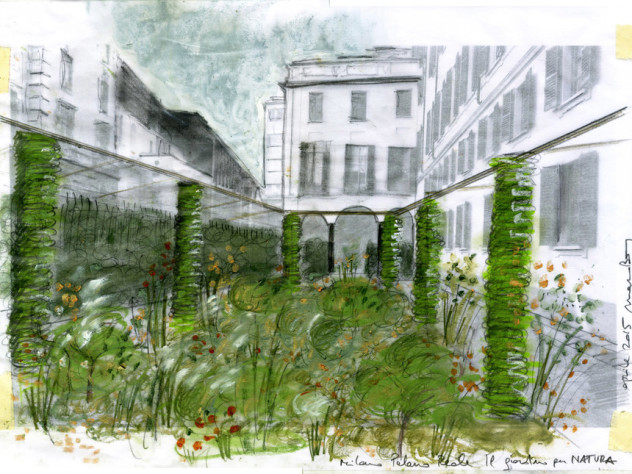 Il-Viridarium-Palazzo-Reale-Milano-Disegno-del-giardino-e-progetto-a-cura-degli-architetti-Marco