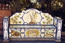Marbella-ławka